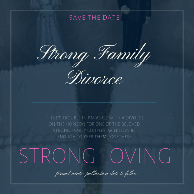 One of the Strong family couples are headed for divorce... (1)